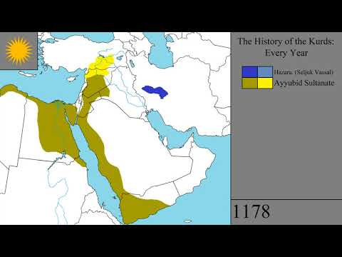 The History of the Kurds: Every Year