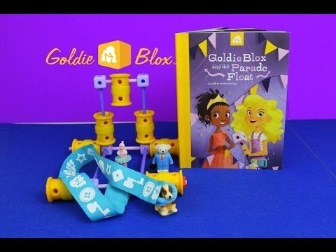 Goldie Blox and the Parade Float NEW