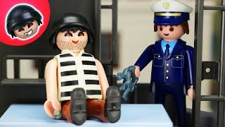 KARLCHEN KNACK - Karlchen hinter Gittern! - Playmobil Polizei Film #123