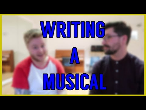 'Writing a Musical' - a vlog with Jonathan Vickers (I Read Books In Nightclubs)