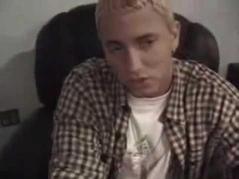Eminem High In Interview