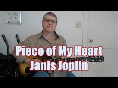 Piece of My Heart  Janis Joplin Guitar Lesson with TAB