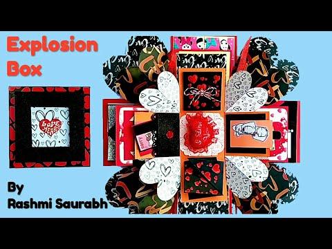 New year Gift | New Year Gift ideas | Handmade Explosion box | Gift box | 新年