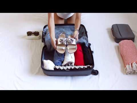 Складываем чемодан для ручной клади | Folding A Suitcase For Hand Luggage