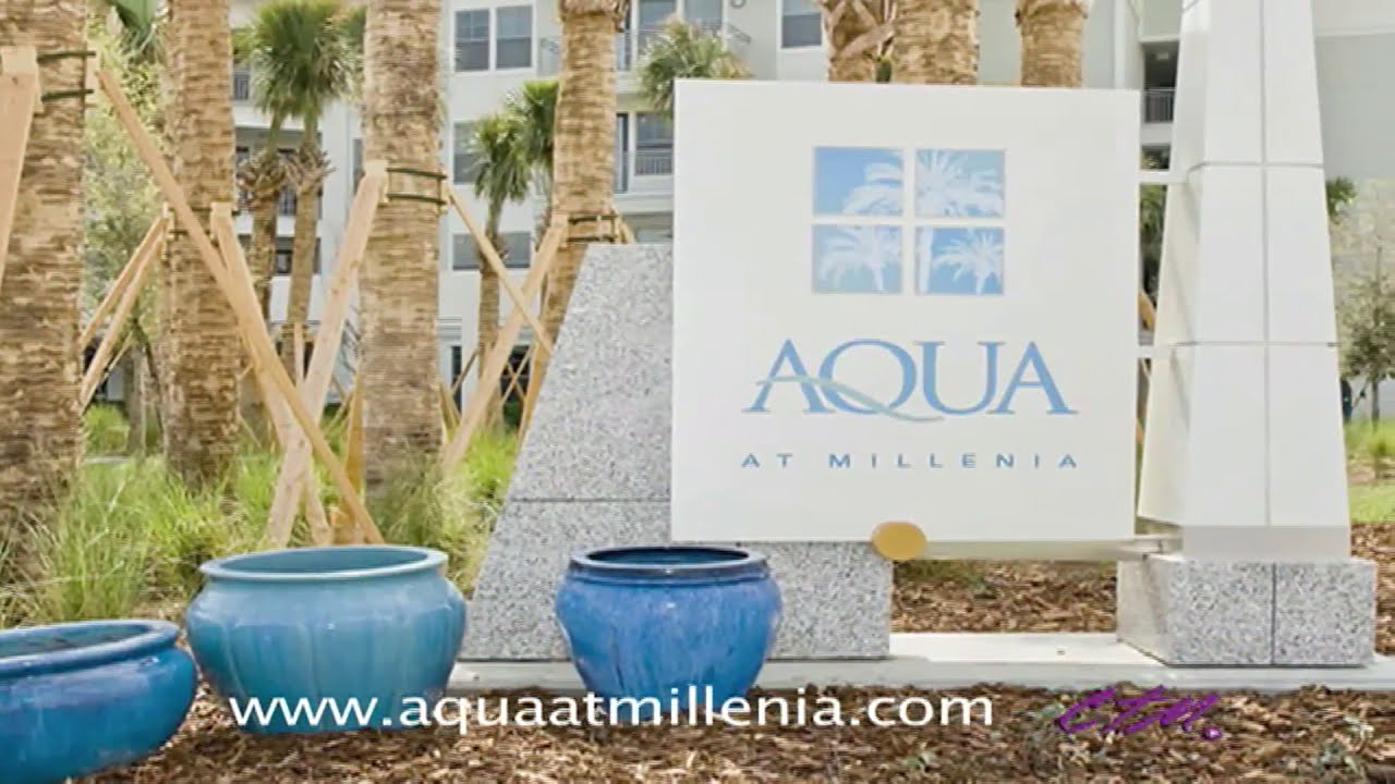 Aqua at Millenia Orlando FL Apartments