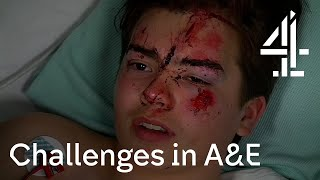 24 Hours in A&E | Dealing with a serious head injury