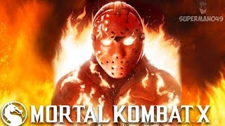 TAKING OUT LAGGY TEABAGGER TRASH... I LOVE IT Mortal Kombat X Jason Voorhees Gameplay