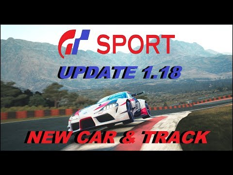 GT Sport Update 1.18 - New Car & Track Plus Patch Info thumbnail