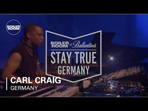 Carl Craig Boiler Room & Ballantine's Stay True Germany Live set