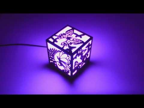 This Cool LED Nightlight Celebrates Classic Video Games
