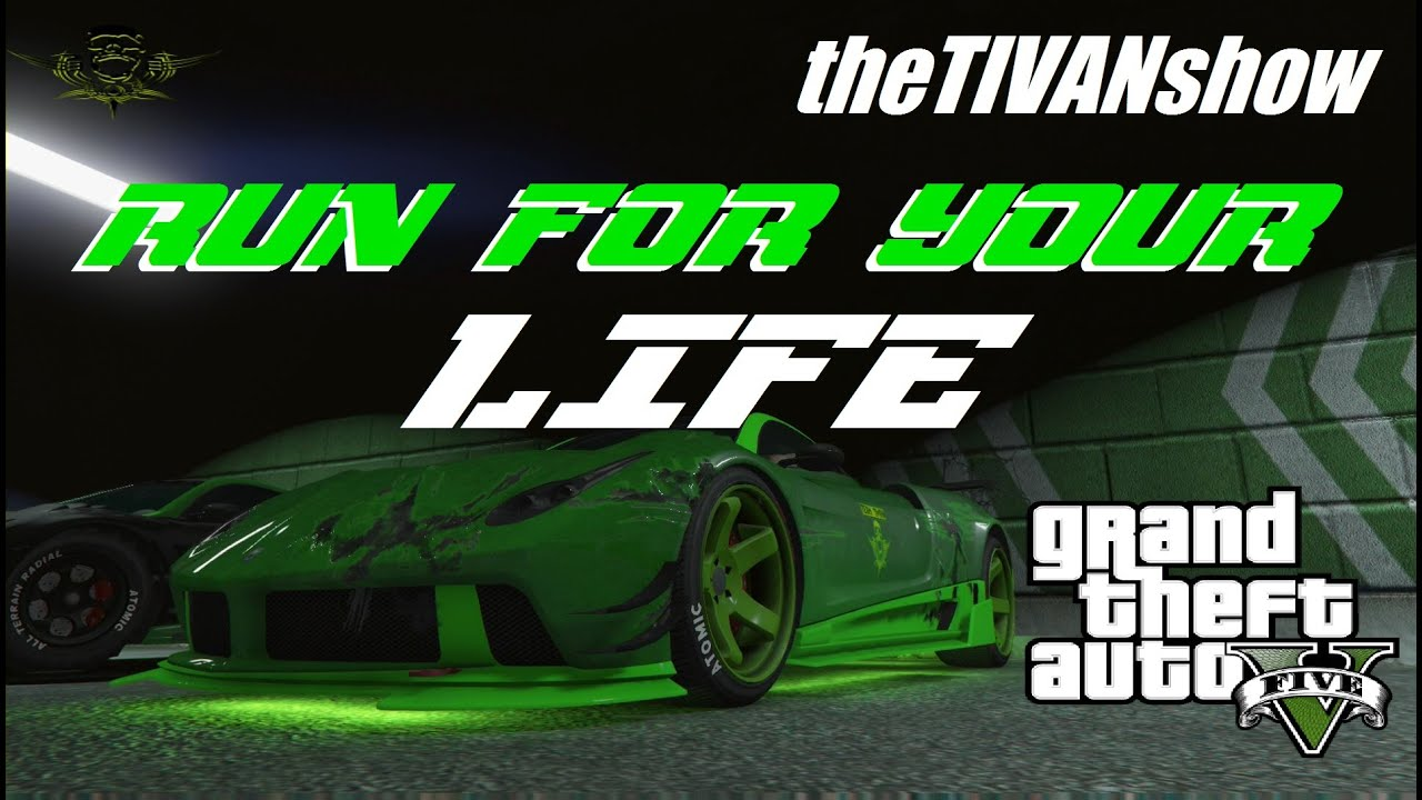 GTA5 - NEW GAME - RUN FOR YOUR LIFE - PS4 - LIVE STREAM