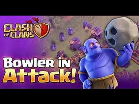 TH10 Queen Walk With Bowler Attack | TH10 3 Star | Clash Of Clan