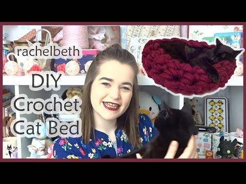 DIY Crochet Cat Bed - The Merrythought   360x480