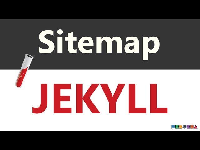 adding sitemap to jekyll blog webjeda