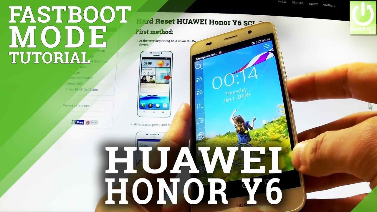 Fastboot Mode in HUAWEI Honor Y6 SCL-L01 - Enter / Quit Fastboot