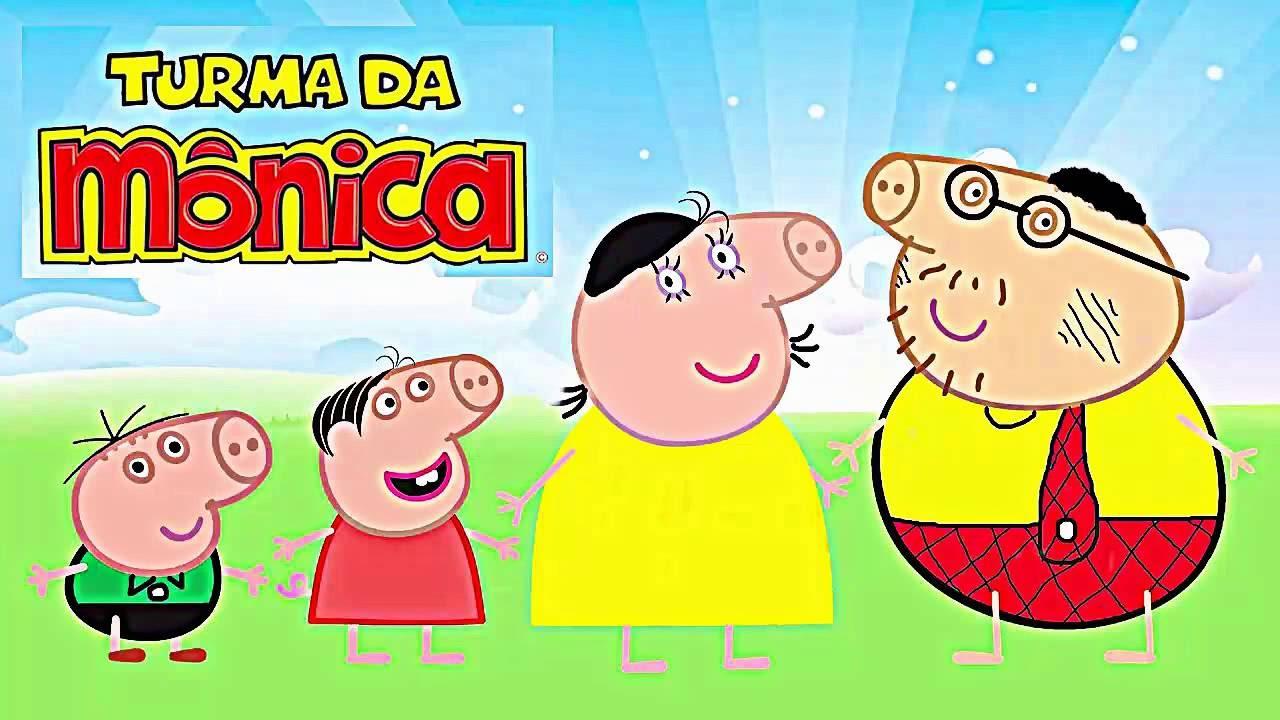 Peppa Pig Portugues Completo Desenho Da Familia Pig Vestidos De