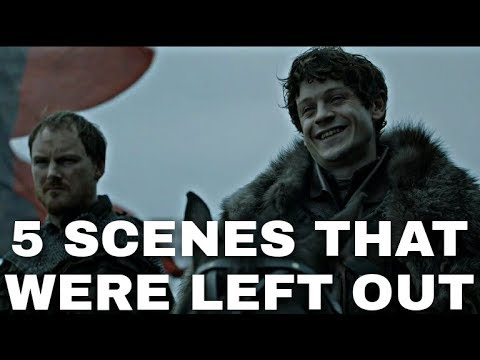 5 Disturbing Scenes Game of Thrones Cut From The Show - Game of Thrones & ASOIAF Mp3