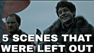 5 Disturbing Scenes Game of Thrones Cut From The Show - Game of Thrones & ASOIAF