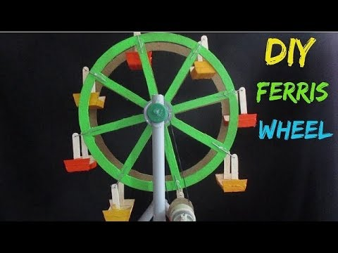 Best Electric Bicycle >> Ferris Wheel - How to make an Electric Ferris Wheel for a School Project - YouTube