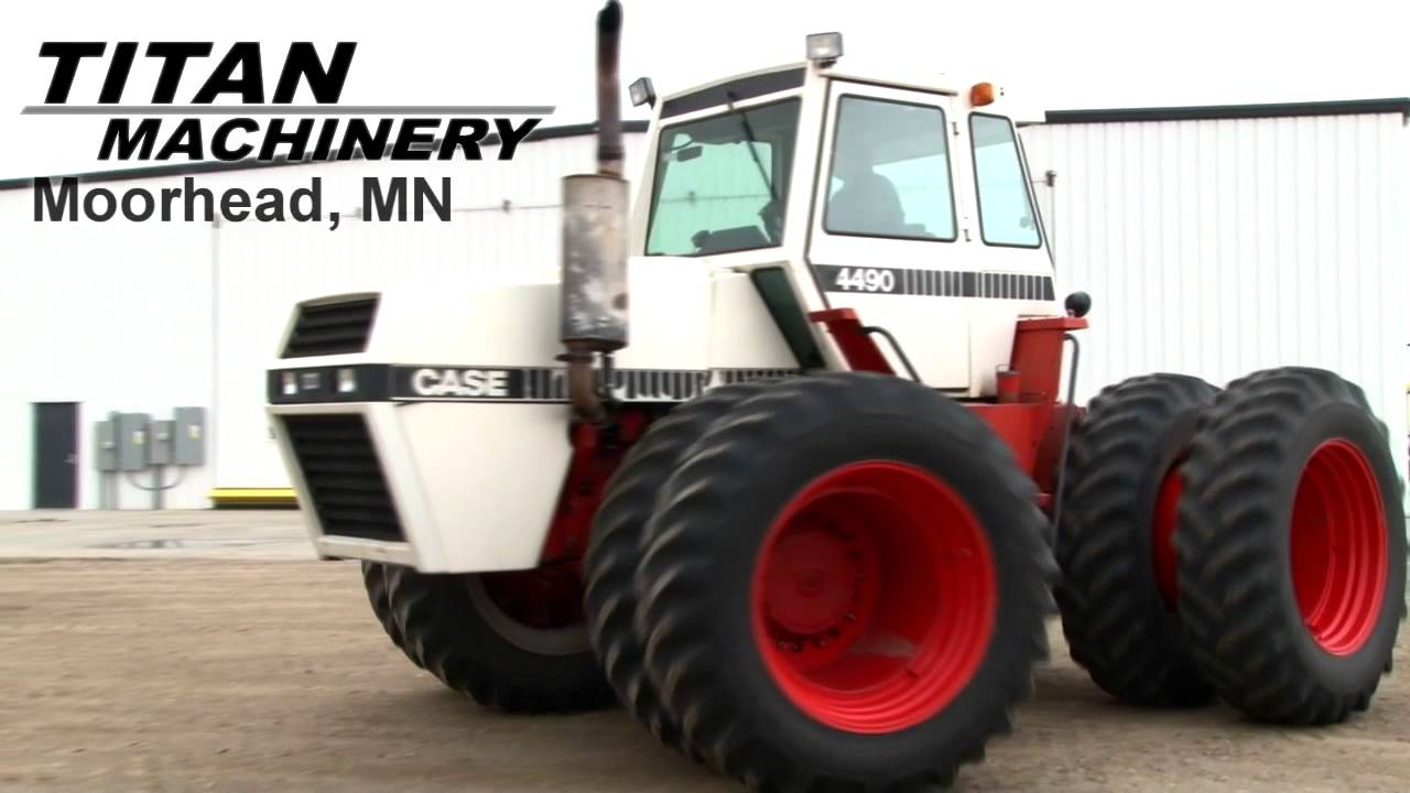 Case 4490 Tractor : Case tractor sold on els youtube