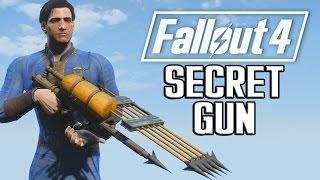 FALLOUT 4 SECRET WEAPON!