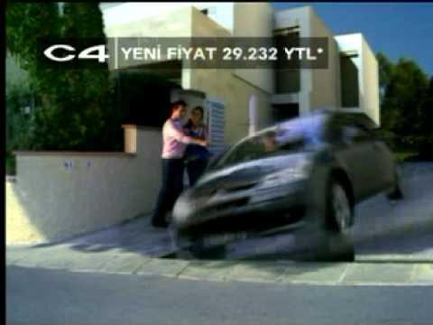 Yeni Citroen C2 C4 C3 C5 Türkiye Reklamı