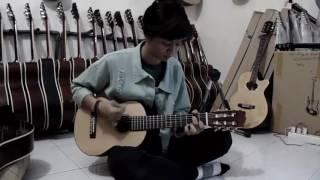 Gitar mini klasik traveling size 1/2 CGS