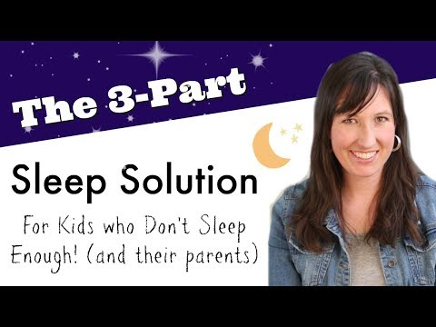20 Holistic Solutions for Getting Children to Sleep