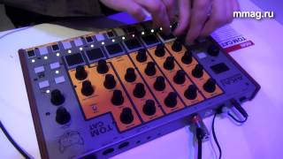 mmag.ru: Musikmesse 2015 - AKAI Tom Cat - аналоговая драм-машина
