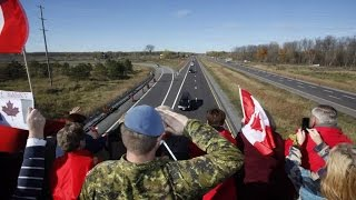 Highway of Heroes - Remembrance Day 2016