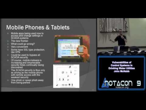 NOTACON 9: Vulnerabilities of Control Systems in Drinking Water Utilities (EN) | enh. audio