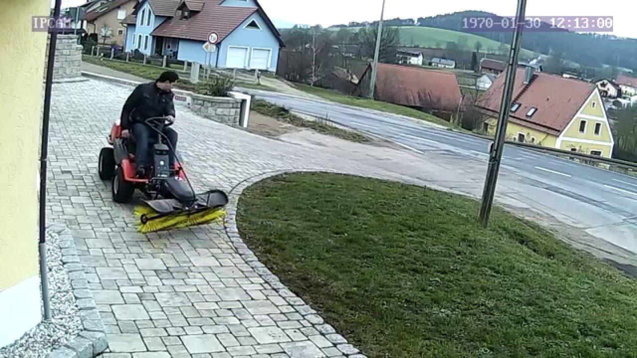 Lieblings Husqvarna Rider PF21 AWD mit Kehrmaschine - YouTube #GN_32