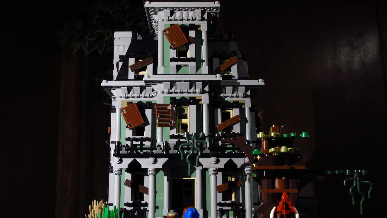 lego halloween haunted house horror movie - Halloween House Pictures