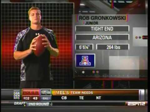 2010 New England Patriots 2nd Round Pick Rob Gronkowski