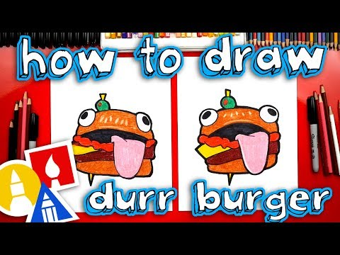 how-to-draw-the-fortnite-durr-burger