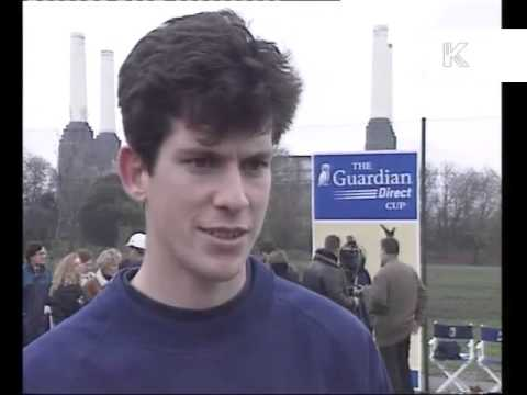 1990s Tim Henman Photocall and Interview