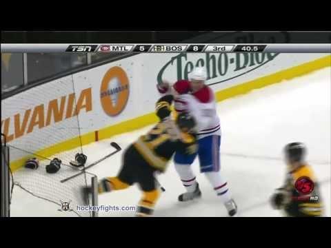 Canadiens vs Bruins Feb 9, 2011