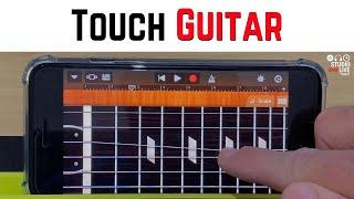 How to play the guitar in GarageBand iOS screenshot 1