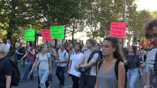 Großdemo in Berlin - UNTEILBAR - Solidarität statt Ausgrenzung