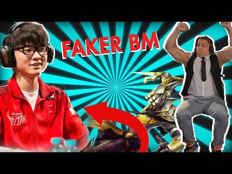 FAKER at ALL STARS! -SNEAKY COSPLAY- LOL CLIPS