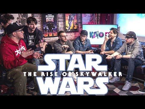 Rocket Beans reagiert auf den Star Wars IX: The Rise of Skywalker Trailer