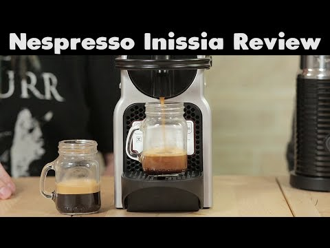 Nespresso Inissia Review + Refillable Pods | What!? What!?