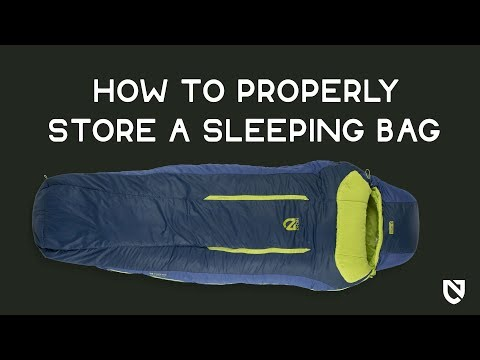 NEMO | How to Properly Store a Sleeping Bag