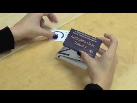 Video brochure 2 lcd business card size youtube colourmoves