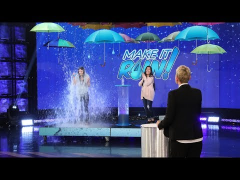 Fan Gets Drenched in a Water-Themed Game of 'Make It Rain'