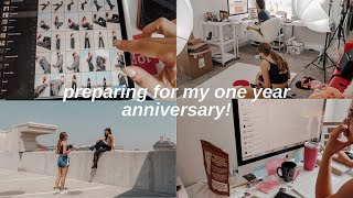 Preparing for My Shop's One Year Anniversary! | VLOG