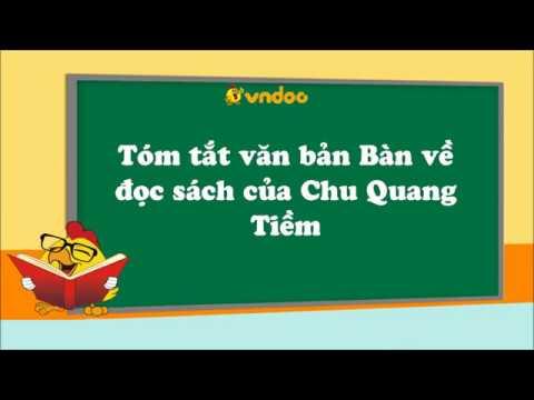 Tóm tắt văn bản Bàn về đọc sách của Chu Quang Tiềm – VnDoc.com