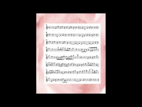 G Faure/ Sicilienne Op.78 piano accompaniment for Flute /a minor