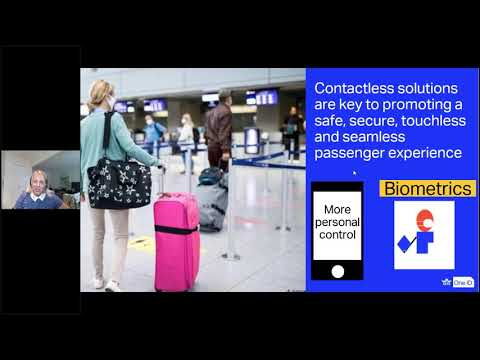 Reshaping the Passenger Experience  Prepare to Travel Contactless - Webinar