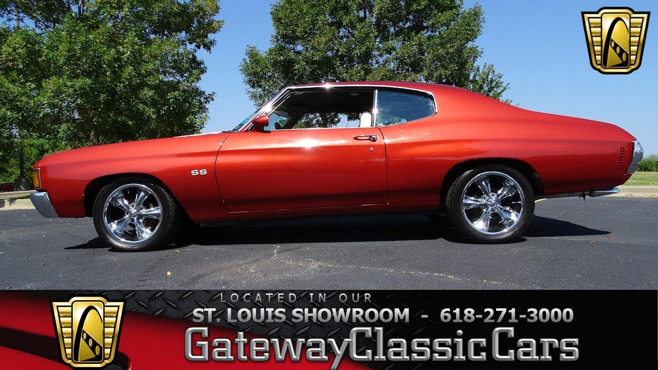 Malibu 1972 chevrolet malibu : 1972 Chevrolet Malibu Stock #7417 Gateway Classic Cars St. Louis ...